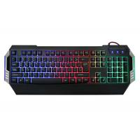 Quality Gk501 Low Profile Gaming Computer Keyboard Rainbow Backlit 104 Keys Oem / Odm Available wholesale