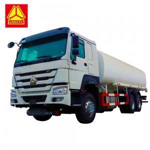 China Environmentally Friendly Fuel Tank Tanker , Sinotruk Howo 20000 Liters 6000 Gallon Diesel Oil Transporter on sale