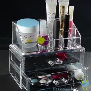 Quality countertop acrylic cosmetic organizer wholesale