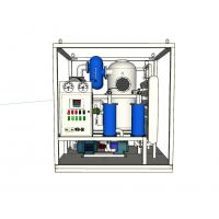 Quality Double Stages Vacuum Transformer Oil Purifier Stainless Steel Material 40KW - 135KW wholesale