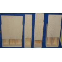 Buy cheap wooden wine box 1 /2/3 bottle from wholesalers
