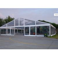 Quality 15m * 25m Transparent Water Proof PVC Tent Fabric  Party Tents For Outdoor Activity wholesale