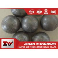 Quality 55-65HRC Hardness forged steel grinding ball , ball milling media wholesale
