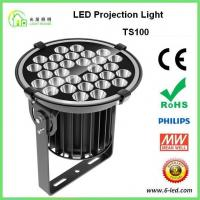 Quality IP65 100w Outdoor Building Projection Lighting Aluminum Die Casting Body wholesale