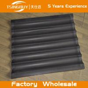 China Factory direct wholesale bread baking aluminum sheet-baguette baking tray-teflon coated baking tray on sale