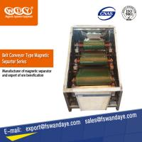Quality High Gauss Electro Magnetic Separator Machine Belt Conveyor For Iron Ore wholesale