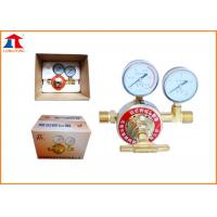 Quality LPG Oxygen Propane Single Stage Gas Regulator For CNC Cutting Machine wholesale