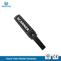 Quality High Sensitivity Security Metal Detector Wand Rechargeable Battery For Metro / Airport wholesale