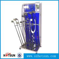 Cheap acrylic golf club display stand supplier for sale