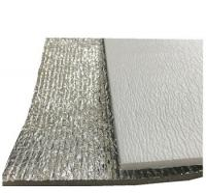 China 0.1 - 3mm Attic Foil Insulation Radiant Barrier , Custom Radiant Barrier Roof on sale