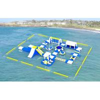 Cheap Adult Inflatable Water Play Equipment For Sea / Inflatable Water Park Design for sale