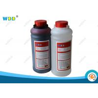 China Red Water Based Dye Ink Compatible Continuous Ink Jet Printing Machine on sale