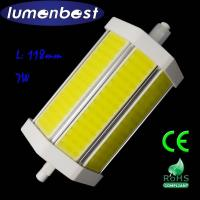 Buy cheap R7S LED R7S BULB COB Aluminum+Plastic 7W 118mm(118mm*54mm) from wholesalers