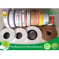 Quality Printed LOGO Eco - Friendly Non Adhesive Kraft Reinforced Tape Water Activated wholesale