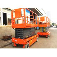 Quality 13.7m Electric Aerial Work Platform Hydraulic Driven With Storage Battery wholesale