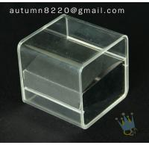 Quality BO (10) acrylic jewelry box wholesale