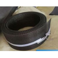 Quality 12 Mesh Twill Weave FeCrAl Woven Square Wire Mesh Heat Resistance For Infrared Burner wholesale