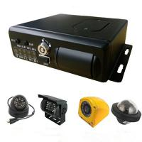 Quality Realtime Monitoring GPS G-sensor school bus vehicle Security Camera System mobile DVR 4Ch 3G wholesale