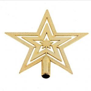 Quality Plastic Pentagram for Christmas Tree Decoration wholesale