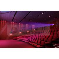 Quality Motion Theater Chair Cinema 3D System With Projectors / Sound System wholesale