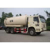 Quality 6×4 Drive Type Sewage Suction Truck With Pump With Hydraulic Control System wholesale
