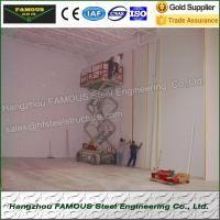 Quality High Airtightness Insulated Sandwich Panels Aluminized For Seafood Cold Room wholesale