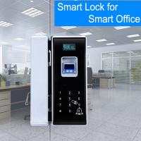Quality Office Entrance Glass Door Lock Five Ways To Unlock Long Battery Life Span wholesale