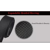 Quality Self - Extinguishing Heat Shrinkable Braided Sleeving Expandable Cable Harness wholesale