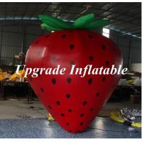 Quality 2m High Customized Big Advertising Balloon Inflatable Strawberry wholesale