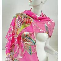 Quality Silk Scarf  ( Burn-out Printed ) wholesale