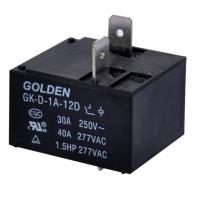 Quality General Purpose 40A DC Power Relay / Power PCB Relay GK-D-1C-12D wholesale