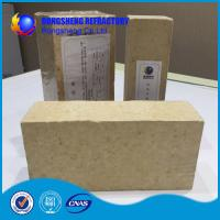 Quality Insulating Silica Fire Brick For Glass Kiln , Acid Resistance Refractory Fire Bricks wholesale