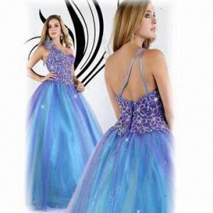 Quality Shift dress, 1 Shoulder Organza A-line Popular Style wholesale
