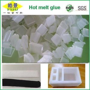 Quality Transparent Hot Melt Glue Pellets Anti Yellowing Hot Melt Adhesive For EPE Foam wholesale