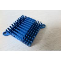 Quality Blue Air Cooling Aluminium Heat Sink Profiles / Casting And Forging Heat Sink wholesale