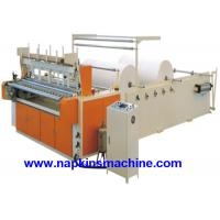 Quality Coloured Toilet Paper Making Machine , Toilet Paper Converting Machine wholesale