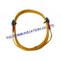 Quality Duplex 2.0mm fiber optic patch cord lc lc For FTTH , Low Insertion Loss wholesale