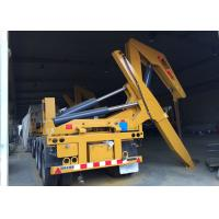 Quality Side Lifter 3 Axles Semi Trailer Truck Lift / Carry 20ft 40ft Container wholesale