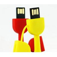China PVC Custom  64gb Usb 2.0 Flash Drive 15 - 18MB / S on sale