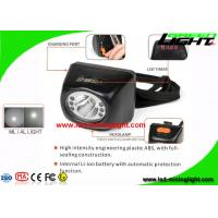 Quality 4.5Ah Digital Mining Cap Light Head Lamp IP67 With 18 Hours Lighting Working Time wholesale