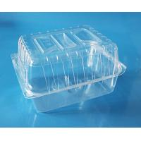 Quality Disposable plastic fruit container cake packaging box bake packaging box food grade PET food packaging contaier FDA EU wholesale