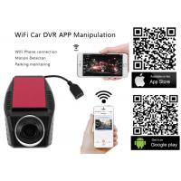 Quality High Definition WiFi Auto Car DVR Camera Digital Upgraded Loop Video Camcorder Driving Recorder DVR-A4 wholesale