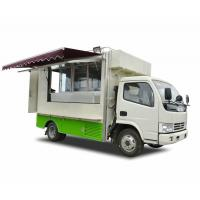 Quality Outdoor DFAC 4x2 / 4x4 BVG Mobile Food Truck For Army , Forces ,Troops Camping wholesale