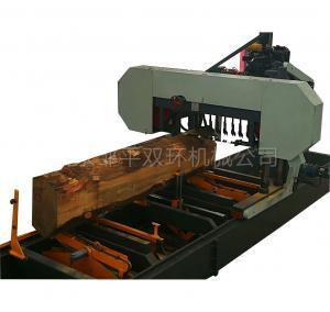 Quality CNC automatic large wood sawmill machine, Horizontal Wood BandSaw Sawmill wholesale