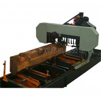 Buy cheap CNC automatic large wood sawmill machine, Horizontal Wood BandSaw Sawmill from wholesalers