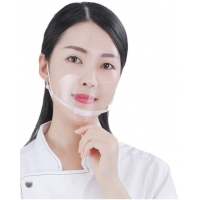 Quality Anti Fog Transparent Mouth Cover For Hotel Kitchen wholesale