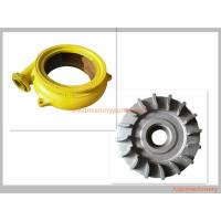 Quality Cast Iron Long Wearing Centrifugal Slurry Pump Parts OEM / ODM Availabl wholesale