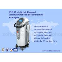 Quality IPL+ RF elight  hair removal and skin rejuvenation beauty machine With Two Handles wholesale