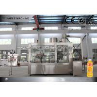 China 3 In 1 Monoblock Juice Filling Machine For Drinking Juice Production Line 10000 - 12000BPH on sale