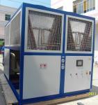 Quality Plate Heat Exchanger Evaporator Industrial Water Chiller With Semi-Hermetic Screw Compressor wholesale